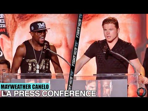 Floyd Mayweather Vs. Canelo Alvarez- Full Los Angeles Press Conference (full HD)