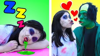 8 TYPES OF STUDENTS IN ZOMBIE SCHOOL | FUNNY SITUATIONS IN CLASS BY CRAFTY HACKS