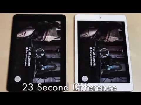 iPad Mini 2 và iPad Mini 1 thử nghiệm tốc độ ai nhanh hơn