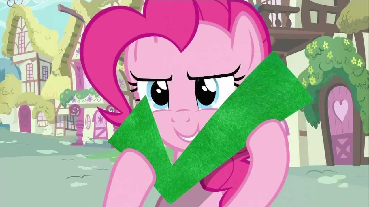 Pinkie Pie - Check! - YouTube