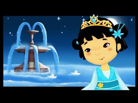 À la claire fontaine - Comptines et chansons avec les petites princesses - Titounis