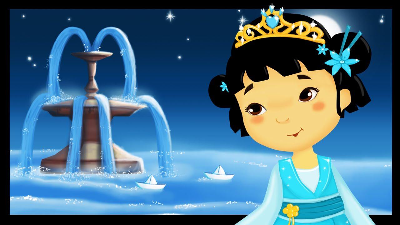 Uncategorized A La Claire Fontaine la claire fontaine comptines et chansons avec les petites princesses titounis youtube