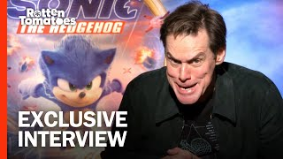 Jim Carrey and 'Sonic' Cast Give the Hedgehog Redesign the Thumbs Up | Rotten Tomatoes