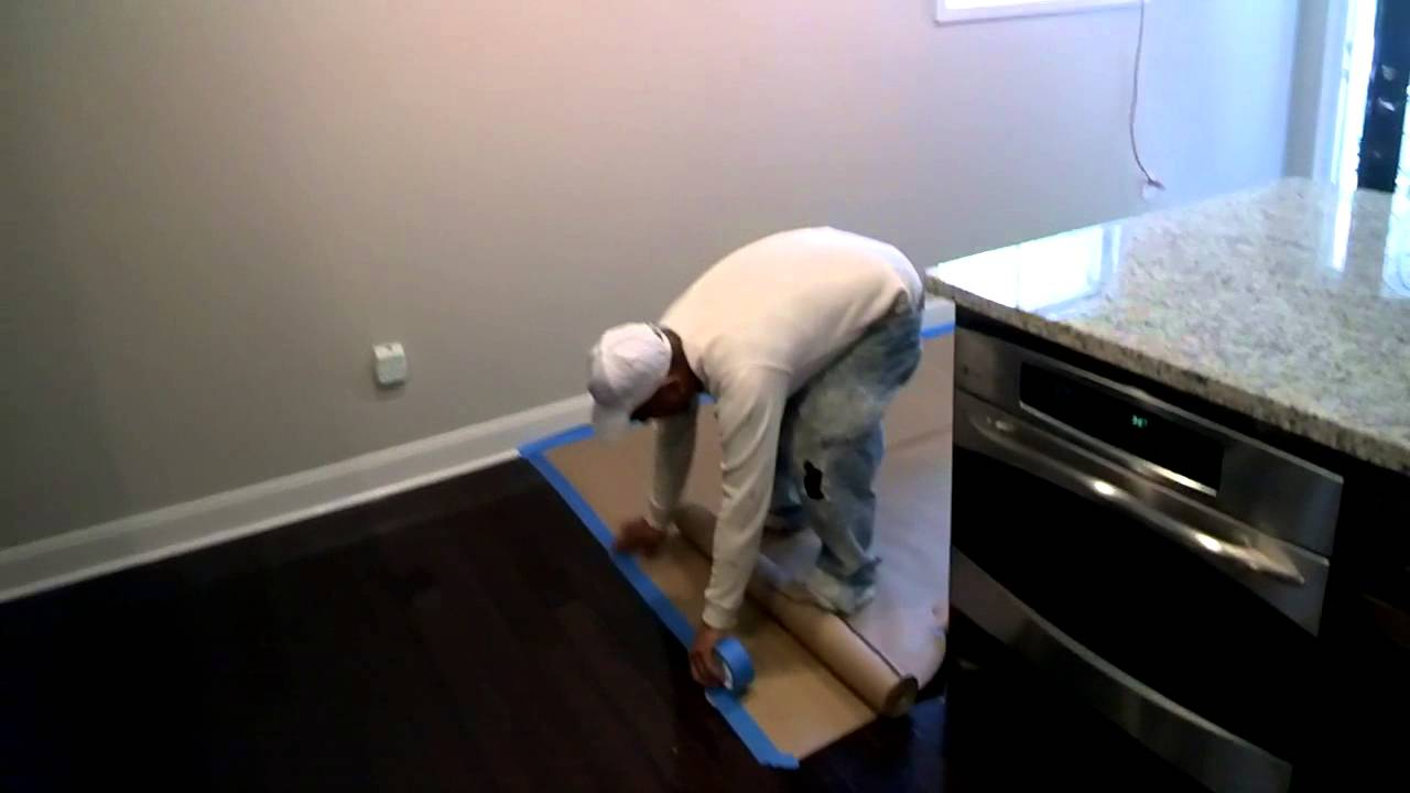 Protect Wood Floors During