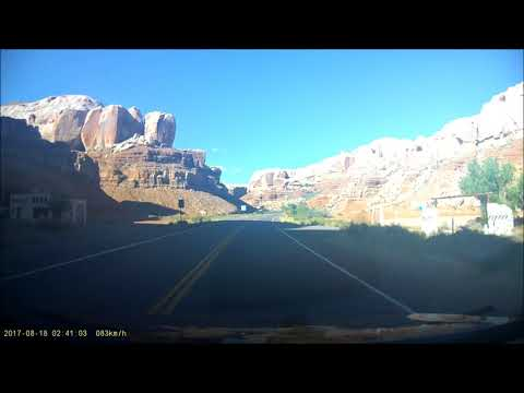 (17.08.2017) Monument Valley (Arizona) - Canyonlands Motor Inn Monticello (Utah) (1st 40min)