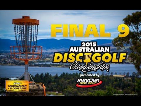 2015 Australian Disc Golf Championships - Final 9 (Kapalko, Finn, Wheeler, Paasikallio)