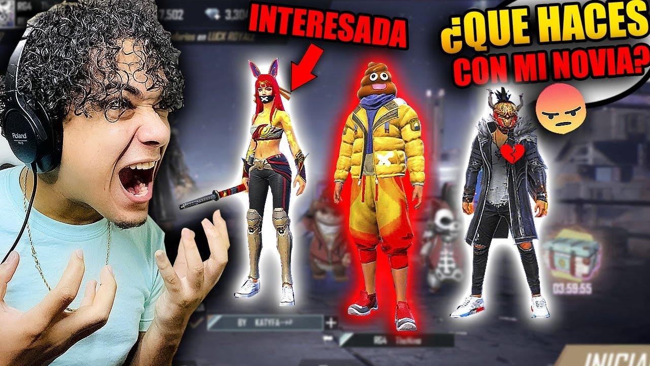 Download ESTE *YOUTUBER* ME DESCUBRE JUGANDO CON SU NOVIA Y NO CREERAS LO QUE PASO!! *epicofinal* 😡 FREE FIRE