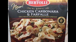 Bertolli: Chicken Carbonara & Farfalle Food Review