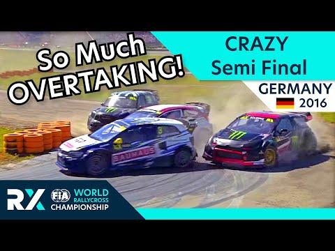 FULL RACE: Semi Final 2   World Rallycross of Hockenheim 2016