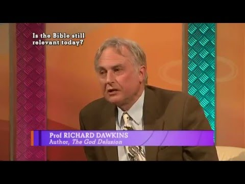 Religion Debate with Richard Dawkins - Is The Bible Still Relevant Today
