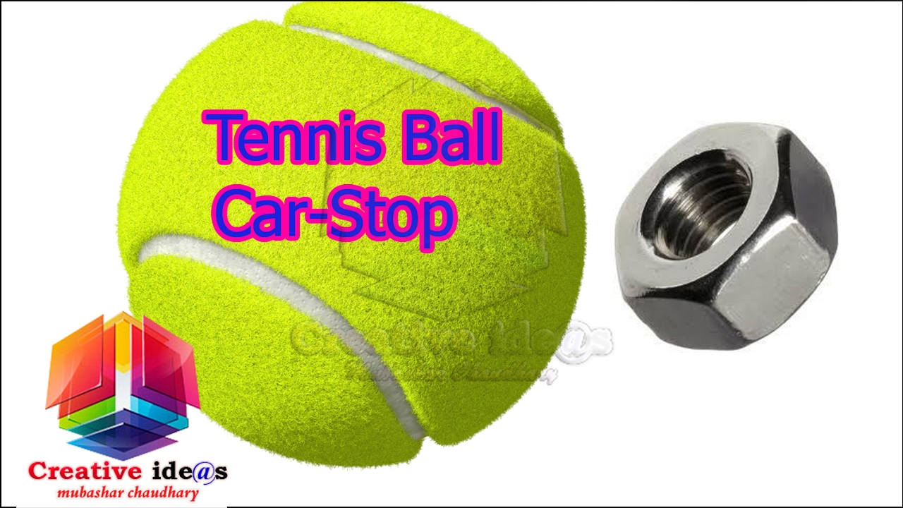 How To Make A Tennis Ball Car Stop For The Garage Youtube