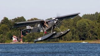 Extreme Short Take Off From Water In Float Plane
