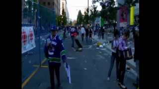 VANCOUVER STANLEY CUP RIOT JUNE 15 2011 COPYRIGHT E.B. ENTERPRISES ALL RIGHTS RESERVED BCNEWSVIDEO
