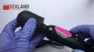Обзор вибратора-массажера Magic Wand - секс шоп sexland.com.ua