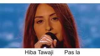#hibatawaji #Hibatawaji Hiba tawaji --pas la-- the voice 2015