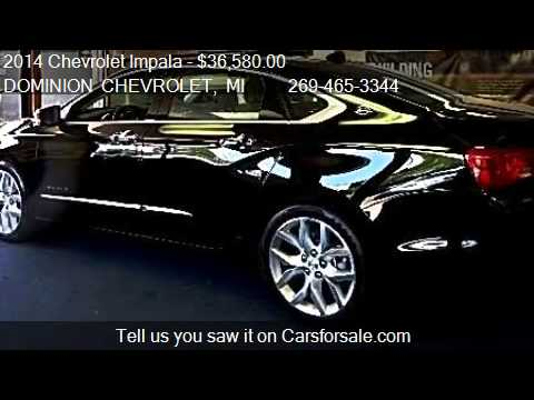 2014 Chevrolet Impala Ltz For Sale In Bridgman Mi 49106