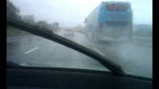 MSRTC Shivneri Volvo B7R bus rains.mp4