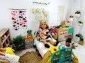 BOHO CHIC BEDROOM SET UP FOR AMERICAN GIRL DOLL