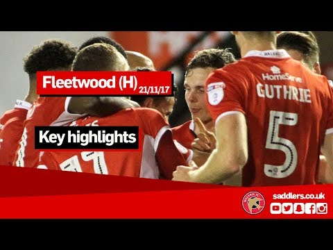 MATCH HIGHLIGHTS | Walsall 4-2 Fleetwood Town