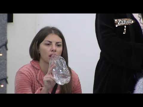 Zadruga 2 - Zerina kritikovala Draganu, pa priznala šta misli o Pavlu - 10.01.2019.