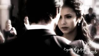the vampire diaries damon salvatore elena gilbert angels or devils ian somerhalder nina dobrev