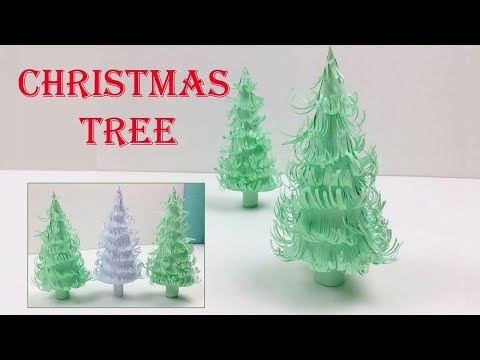 DIY Very Easy and Beautiful Handmade 🎄 Christmas Tree 🎄3D Paper Christmas Tree Craft (Xmas Tree)
