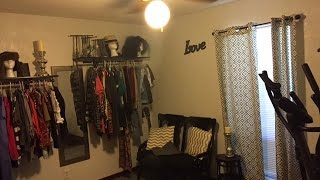Diy Make Up Room/walk In Closet