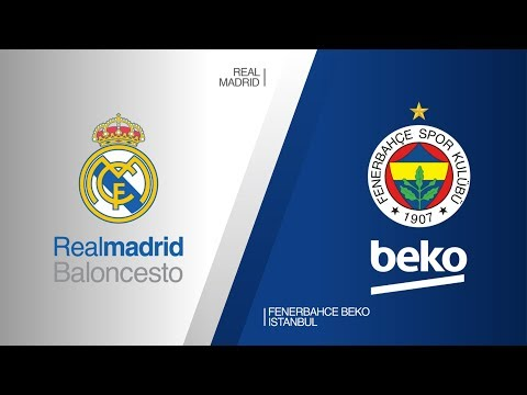 Real Madrid - Fenerbahce Beko Istanbul Highlights | Turkish Airlines EuroLeague RS Round 25