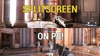 Play SPLITSCREEN on PC! - Star Wars Battlefront 2 (Mod)