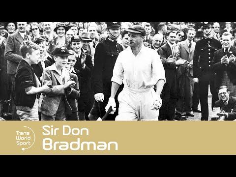 The Greatest Batsman Of All Time! | Sir Don Bradman | Trans World Sport