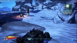 Borderlands 2 - Find Corporal Reiss (Audio Log) HD Gameplay Playstation 3 PS3