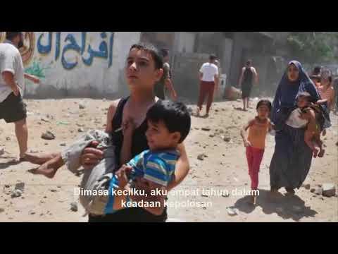 Tangisan Anak anak Palestina melalui Lagu ini Terjemahan Indonesia