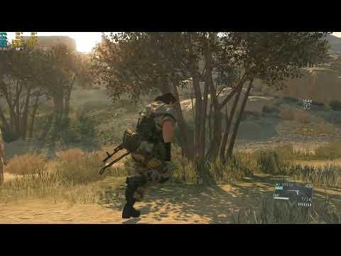 Metal Gear Solid V  The Phantom Pain / Test Games. |