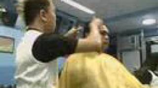 hair rebond process