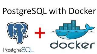 PostgreSQL and Docker - getting started