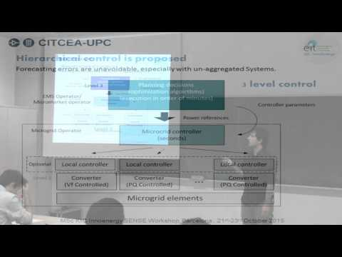 MsC SENSE and MsC Smart Cities Workshop: Microgrid Control and Management