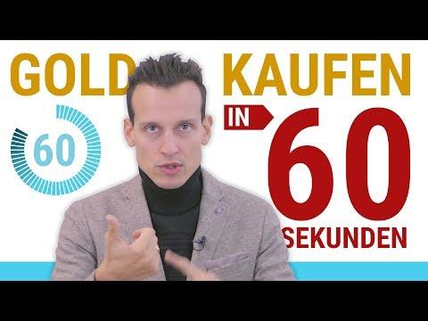 GOLD KAUFEN ⚡ Eine Anleitung in 60 Sekunden