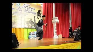 Permainan Pedang oleh Saudara Md Hindra - Pencak Silat Seligi Tunggal