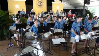 Jump in the Line - West Virginia University Steel Band