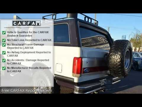 1989 ford bronco reliable auto sales las vegas nv 89104 youtube. Black Bedroom Furniture Sets. Home Design Ideas