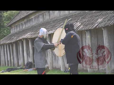 Experimental Archaeology with a Viking Age Round Shield
