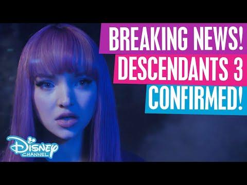 Descendants 3   Official Announcement Trailer🙌💜  Official Disney Channel UK