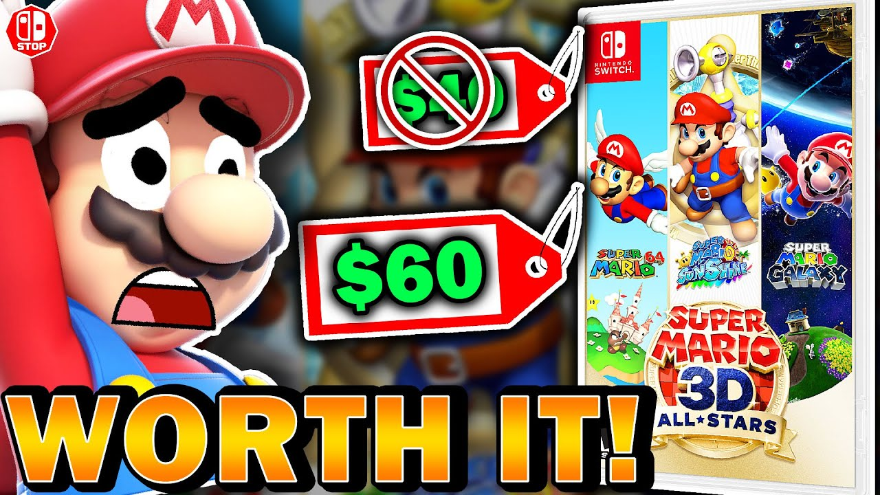 Why I Think Super Mario 3D Allstars Is 100% WORTH The Full Price!
