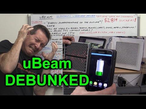 EEVblog #1001 - uBeam Ultrasonic Wireless Charging DEBUNKED!