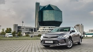Тестдрайв: Toyota Camry, 2.0AT, Стандарт+, 2015my