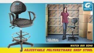 5-way Adjustable Ergonomic Shop Stool