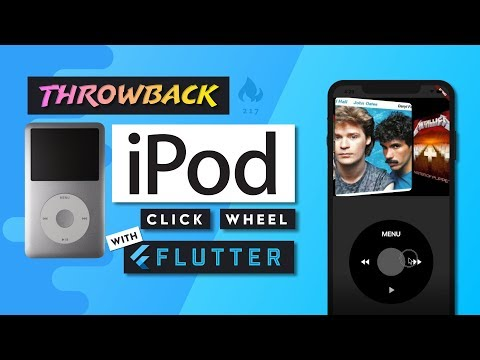 iPod Classic UI with Flutter