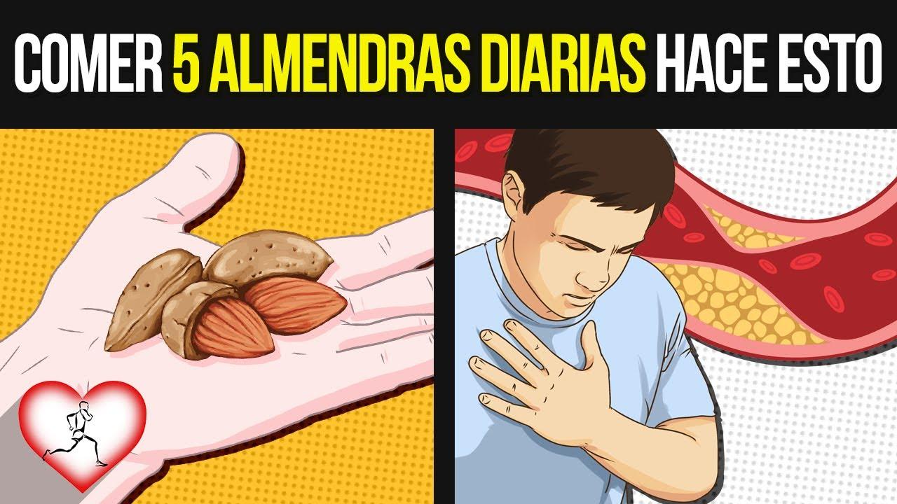 Estas 12 Cosas suceden en tu CUERPO cuando comes ALMENDRAS todos los días