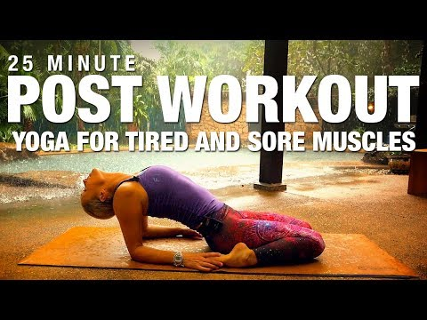 Post Workout Yoga Class for Tired, Sore Muscles Five Parks Yoga