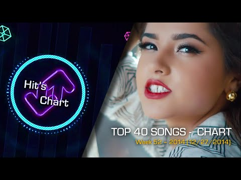 La Lista De Exitos - Top 40 Songs (December/Diciembre 2014 - 27/12/2014)